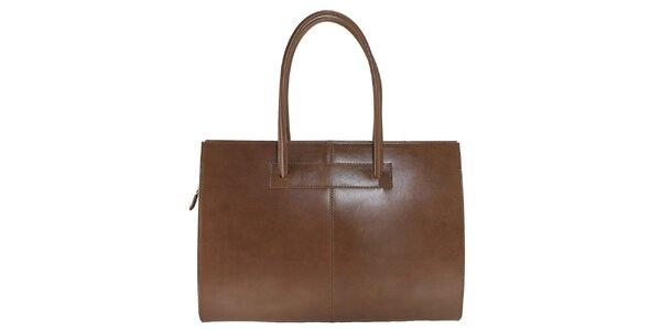 Dámská kožená kabelka s delšími poutky Florence Bags