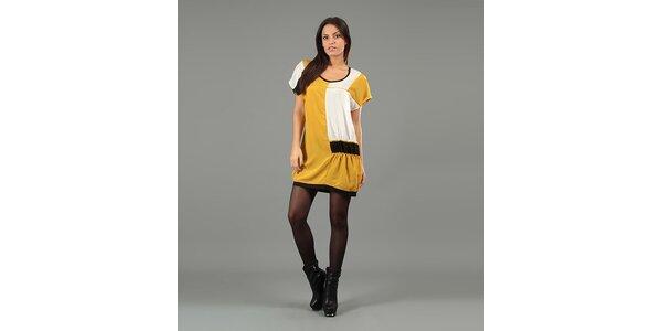 Dámské žluté minišaty Anabelle