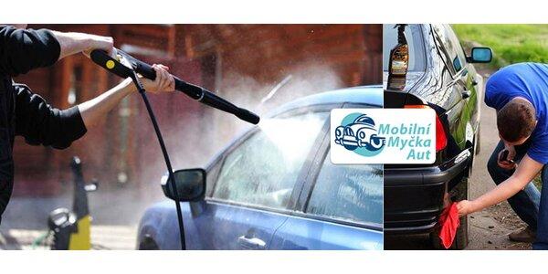 Umytí vozu přímo u vás doma