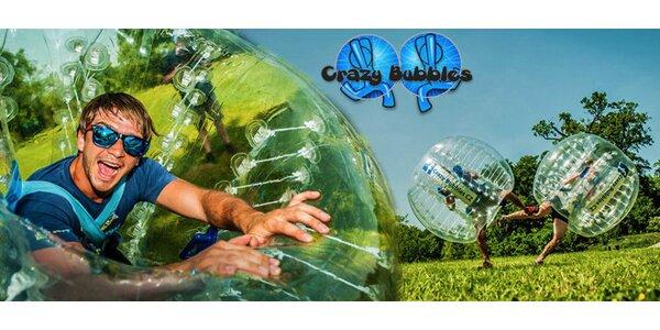 Crazy Bubbles - moderní týmový sport