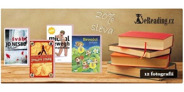 20% sleva na e-knihy z eReading.cz