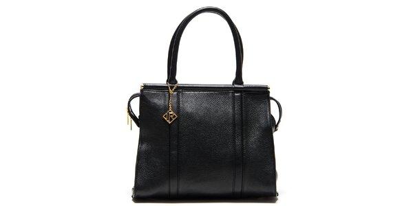 Dámská černá kufříková kabelka Isabella Rhea