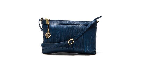 Dámská tmavě modrá kabelka s třásněmi Isabella Rhea
