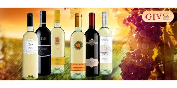 6 vín z Itálie – Chianti, Pinot Grigio a další