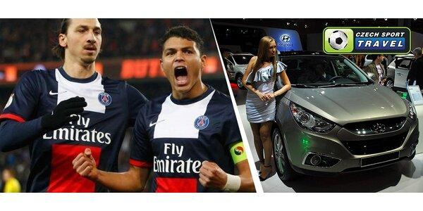 Zápas PARIS SG - RACING LENS, prohlídka Paříže i návštěva slavného Autosalonu