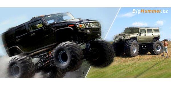 Jízda v Hummer Monster Trucku