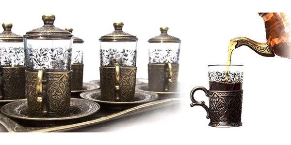 Luxusní čajový nebo kávový set.