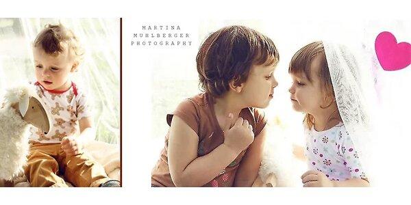 Umělecké fotografie dětí či rodiny