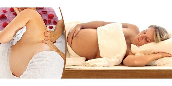 Těhotenská masáž nebo kurz těhotenské masáže pro partnera
