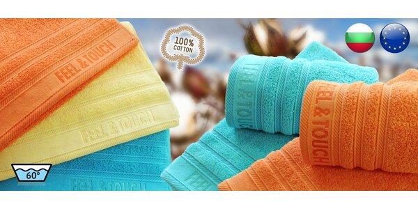 Hebké ručníky a osušky Feel & Touch
