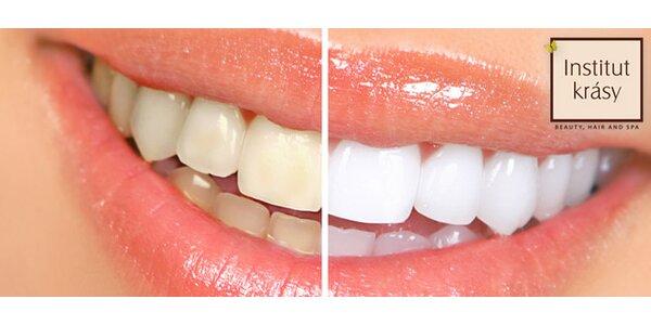 Šetrné bělení zubů laserem v hodnotě 8900 Kč