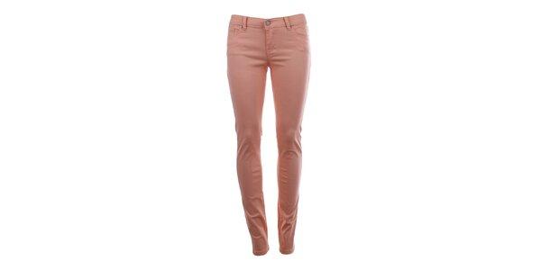 Dámské kalhoty v růžovém odstínu Big Star