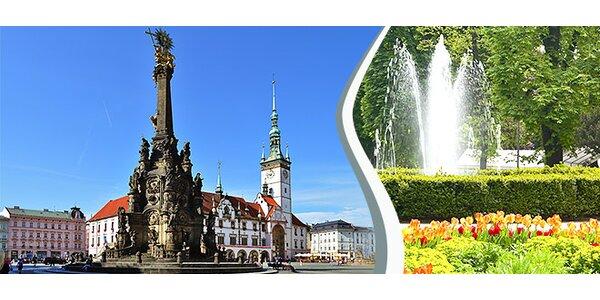 3 dny v rozkvetlé jarní Olomouci pro dva