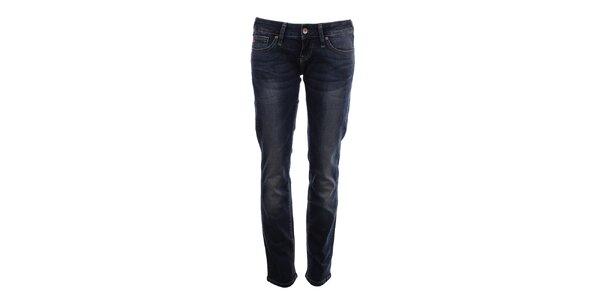 Dámské tmavé džíny s dekorativním šisováním Big Star