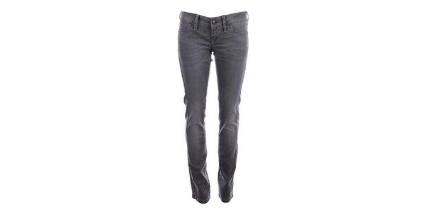 Dámské šedé kalhoty Big Star