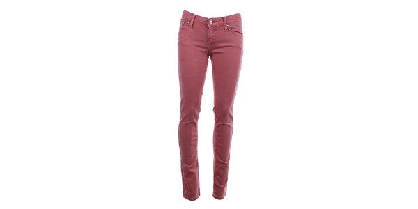 Dámské růžové kalhoty Big Star
