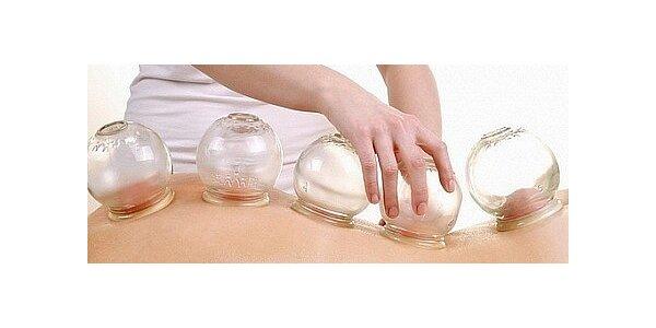 Baňková masáž – velmi učinná v délce 30 minut