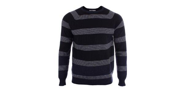 Pánský vlněný svetr s proužky Big Star