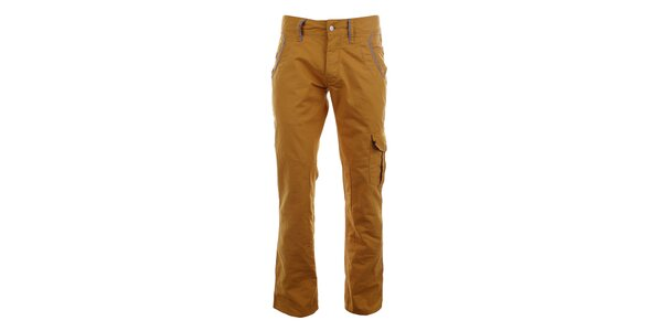 Pánské hořčicové kalhoty Big Star