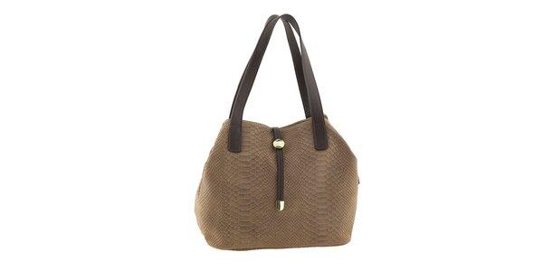 Dámská kožená kabelka se vzorem Classe regina