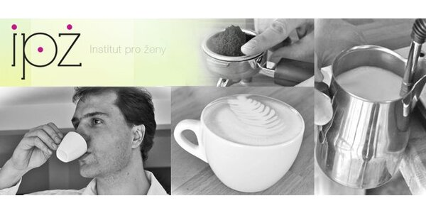 549 Kč za vybraný tříhodinový kurz domácí kávy.