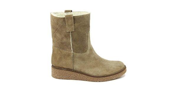 Dámské kotníkové boty s kožíškem Paola Ferri
