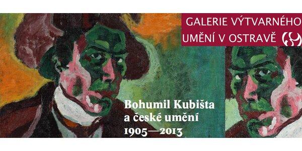 Vstupenky na výstavu Bohumila Kubišty