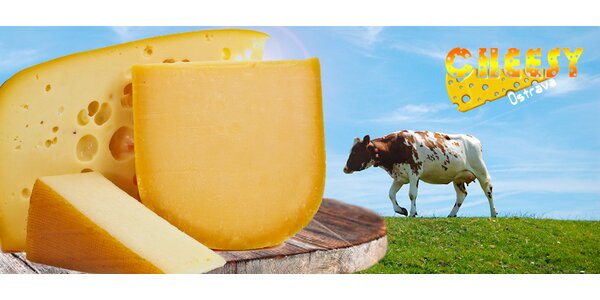 Sýrárna Cheesy – výběr z 200g zrajících sýrů