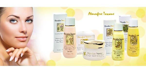 Luxusní řada přírodní kosmetiky Atmosfere Toscane.