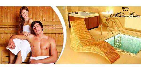 2 hodiny v privátní vířivce a sauně pro dva