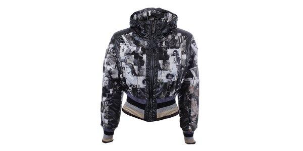 Dámská zimní bunda s potiskem Dislay DY Design