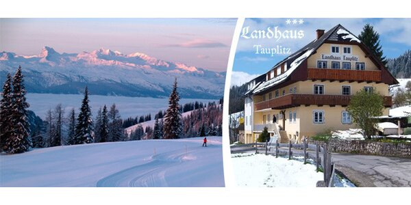Landhaus Tauplitz - český penzion v rakouských Alpách.