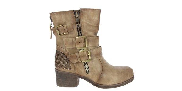 Dámské boty s přezkami Shoes and the City