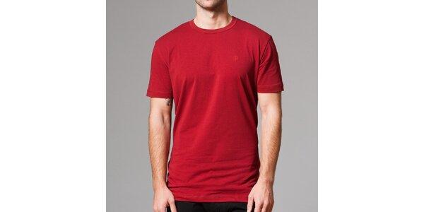 Pánské červené tričko s krátkým rukávem Pietro Filipi