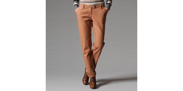 Dámské bavlněné kalhoty s kapsami Pietro Filipi