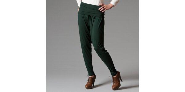 Dámské zelené kalhoty Pietro Filipi