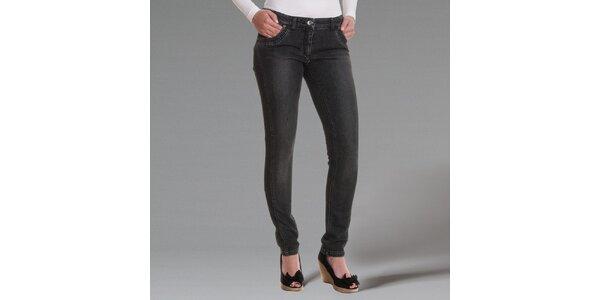Dámské tmavě šedé džíny Pietro Filipi