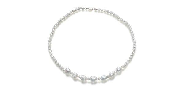 Dámský náhrdelník s perlami Orchira