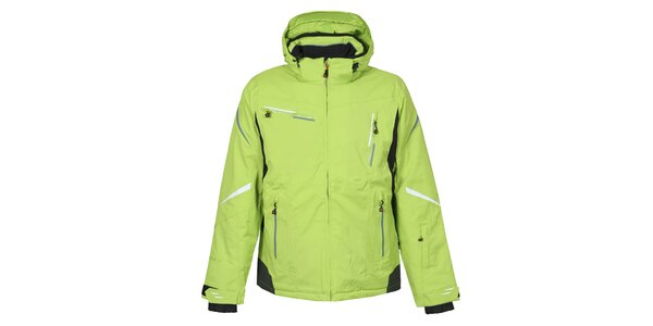Pánská zelená lyžařská bunda Bergson