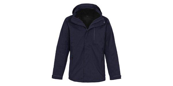 Pánská tmavomodrá multifunkční outdoorová bunda