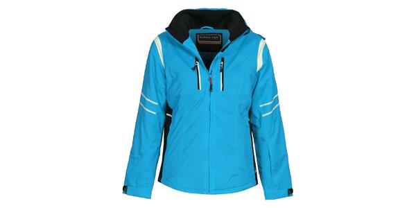 Dámská sportovní lyžařská bunda v modrém provedení Bergson