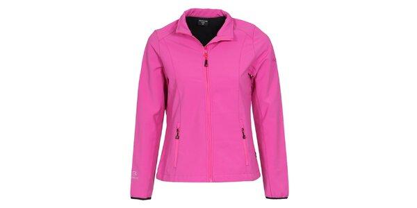 Dámská růžová softshellová bunda Bergson