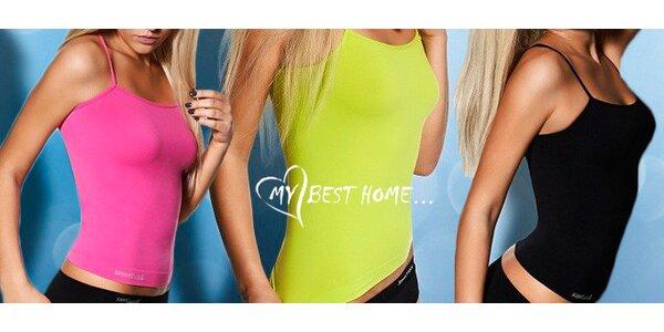 Bezešvá dámská košilka v 14 módních barvách