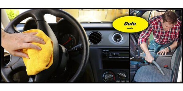 Velký jarní úklid auta. Na výběr suché nebo mokré čištění sedaček včetně…