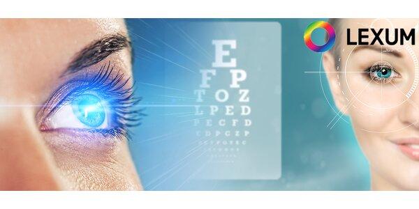 Laserová operace očí Premium Individual či Premium