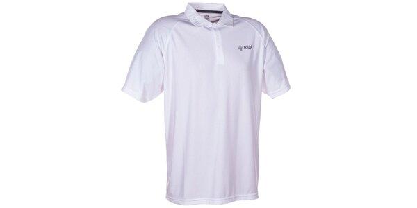 Pánské bílé technické polo tričko Kilpi