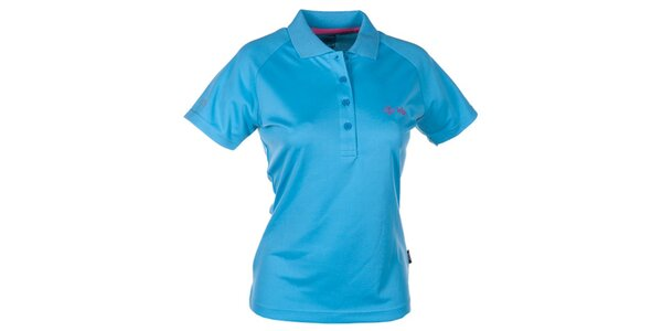 Dámské modré technické polo tričko Kilpi