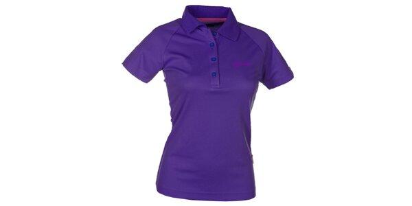 Dámské fialové technické polo tričko Kilpi