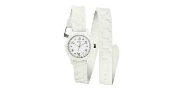 Dámské bílé hodinky Guess