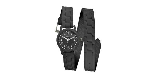 Dámské černé hodinky Guess